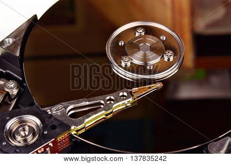 Close Up Hard Disk