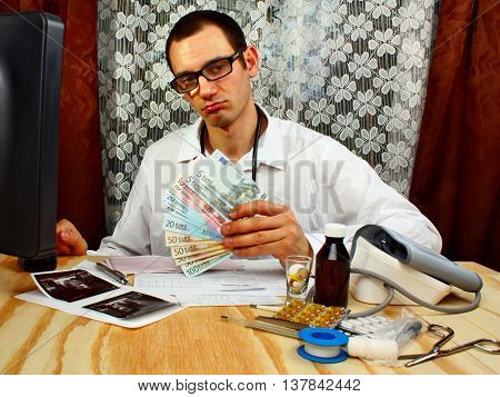 A Handsome Doctor With Money