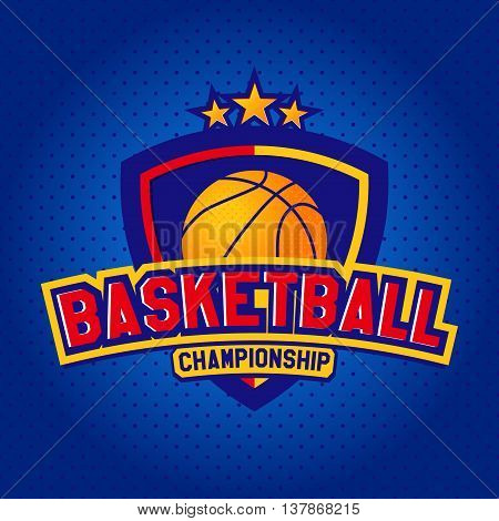 Basketball logo, Label. The logo competition, championship team. For fitness College, University for the tournament. For embroidery, printing. Vector Templates of sport T-Shirts and 4 graphics style