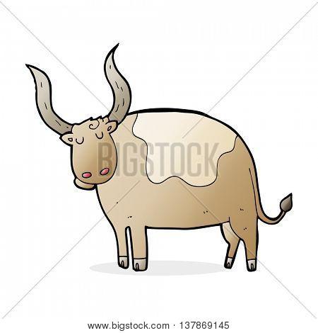 cartoon ox