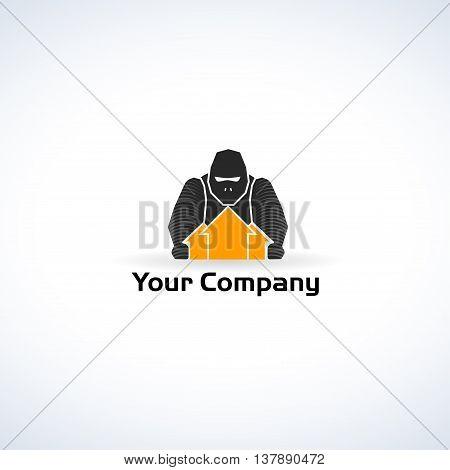 Real Estate Logo Gorilla Design strong company business
