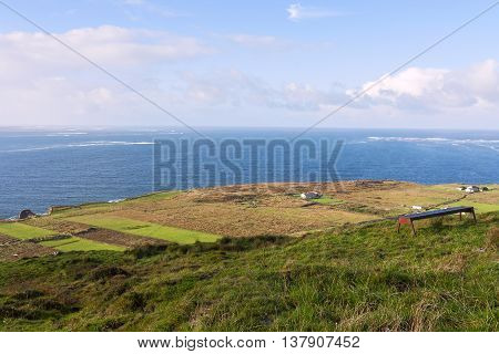 view of dingle peninsula - Ireland europe
