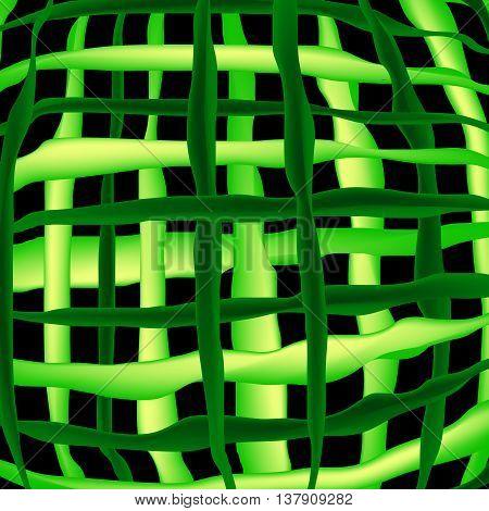 Watermelon grid. The pattern of watermelon strips background