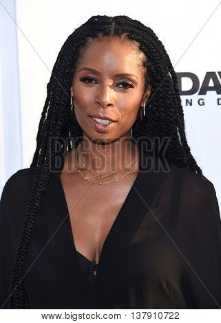 LOS ANGELES - JUN 29:  Tasha Smith arrives to the