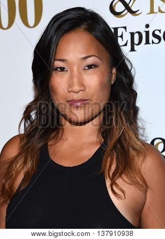 LOS ANGELES - JUL 9:  Tina Huang arrives to the