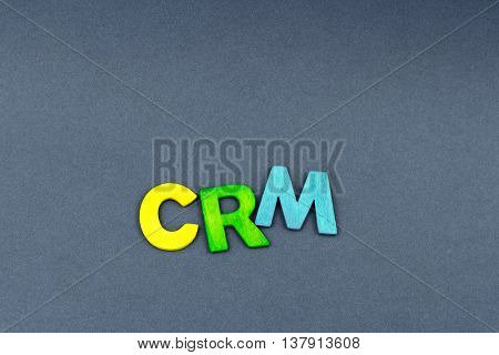 Business Abbreviation Crm As Customer Relationship Management