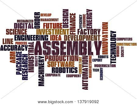 Assembly, Word Cloud Concept 4