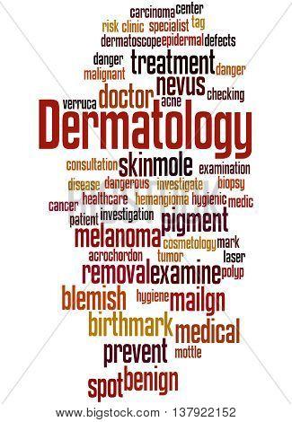 Dermatology, Word Cloud Concept