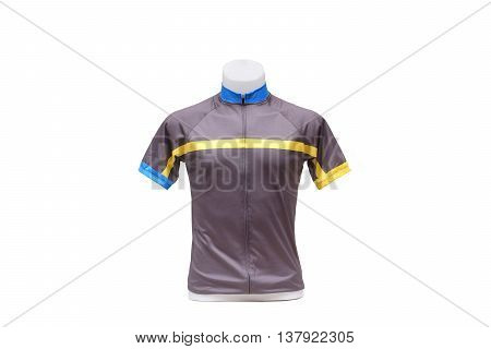 Jersey. Bicycle Jersey with short sleeves for cyclist