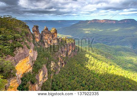 Three Sisters In Blue Mountains, Australia