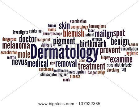 Dermatology, Word Cloud Concept 7
