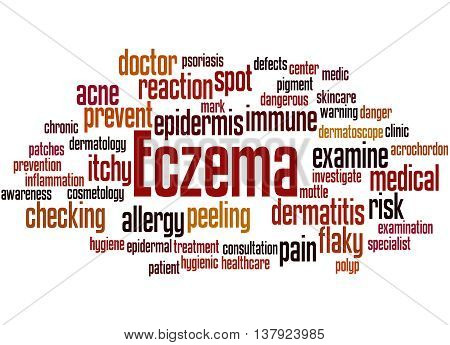 Eczema, Word Cloud Concept 9