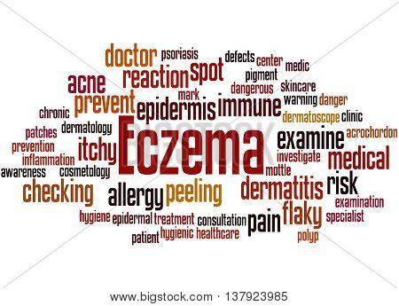 Eczema, Word Cloud Concept 9