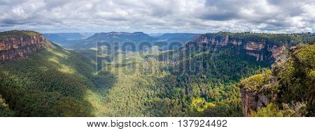 Blue Mountains National Park Panorama, Australia
