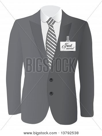 suit for wedding conept