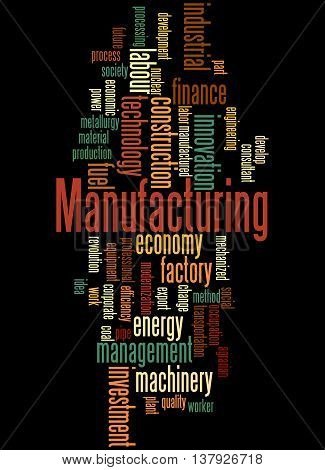 Manufacturing, Word Cloud Concept 5