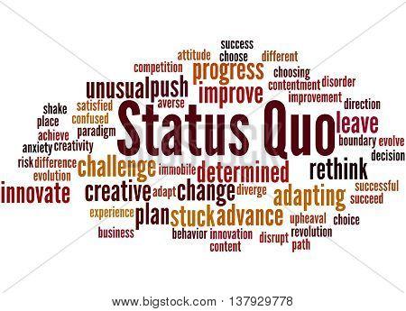 Status Quo, Word Cloud Concept