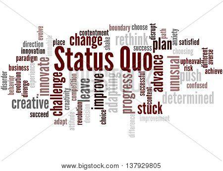 Status Quo, Word Cloud Concept 2
