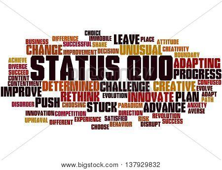 Status Quo, Word Cloud Concept 4