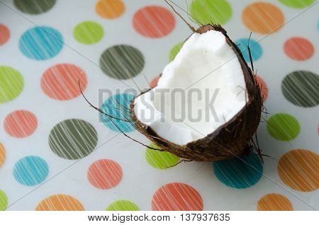 Coconut In The Hand