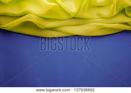 Fabric Background Cloth Wave Title Border Frame Pattern