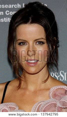 Kate Beckinsale at the 4th Annual Pink Party held at the Hanger 8 in Santa Monica, USA on September 13, 2008.
