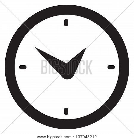 Wall clock icon computer icon time clock face routine