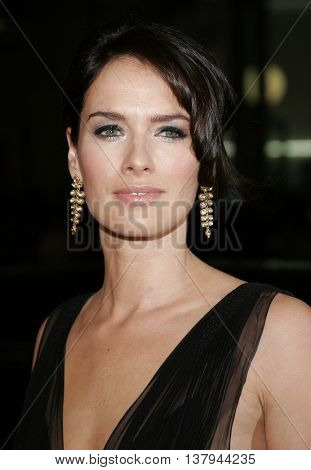 Lena Headey at the Los Angeles premiere of '300' held at the Grauman's Chinese in Hollywood, USA on March 5, 2007.