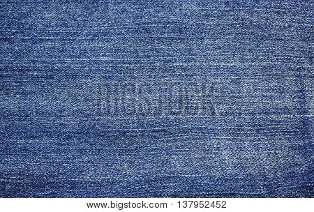 blue jeans fabric texture pattern for background.