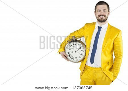 Businessman With Time At Hand