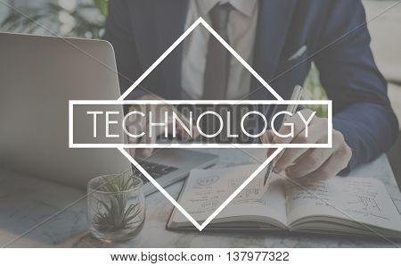 Technology Innovative Evolution Innovation Solutions Concept