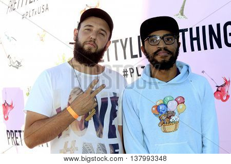 LOS ANGELES - JUL 7:  Lucas Bros at the Pretty Little Thing Launch at the Private Residence on July 7, 2016 in Los Angeles, CA