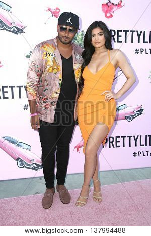 LOS ANGELES - JUL 7:  Guest, Kylie Jenner at the Pretty Little Thing Launch at the Private Residence on July 7, 2016 in Los Angeles, CA