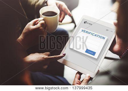 Verification Permission Accessible Security Concept