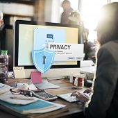 Privacy Confidential Protection Security Solitude Concept poster