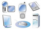 technology icon vector