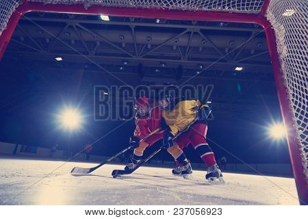 ice hockey sport players in