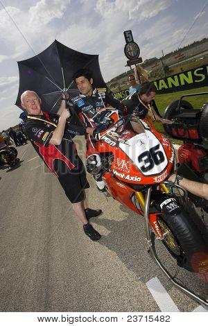 SBK Campeonato del Mundo de Superbikes - Spanish Round - Valencia 2008 en el Circuito Ricardo Tormo de Cheste - Gregorio Lavilla