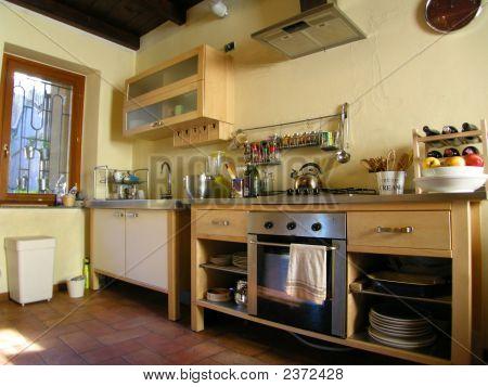 Ambiance Modern Kitchen Wide