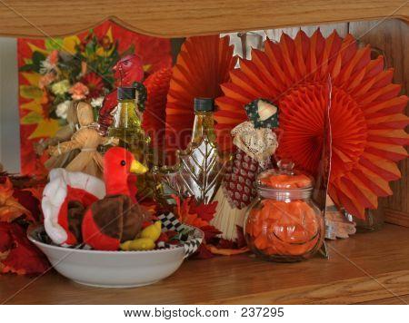 Thanksgiving Setting