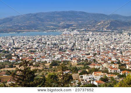 Volos city in Greece