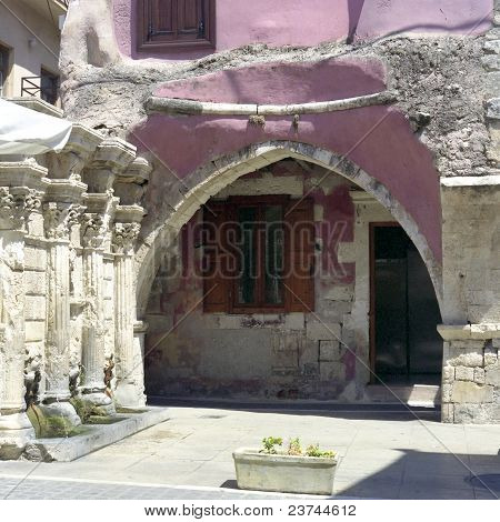 Rimondi Fountain And Courtyard.