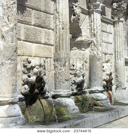 Greek Fountain