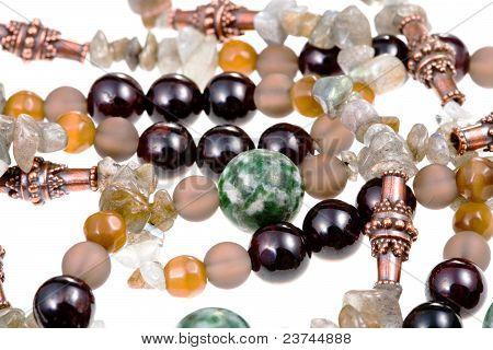 Fragment Gemstone Lady's Bead Closeup