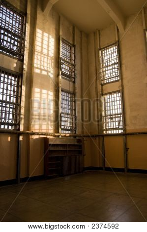 Abandoned Library At Alcatraz