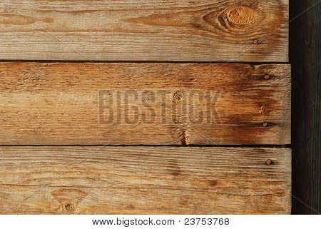 Old Wooden Planks With Nails