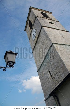 Church In Porrentruy, Switzerland