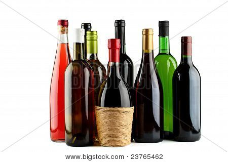 Bottles Of Wine.