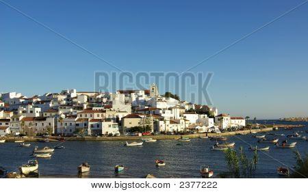 Ferragudo, Portugal In Algarve