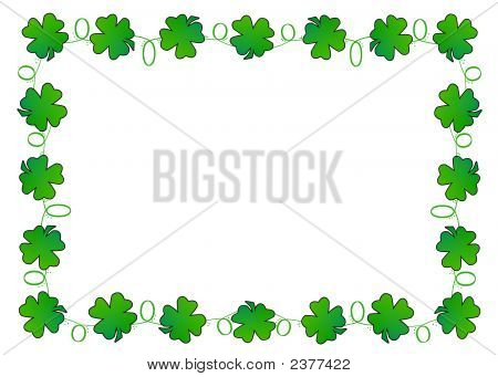 Clover Leaf Border
